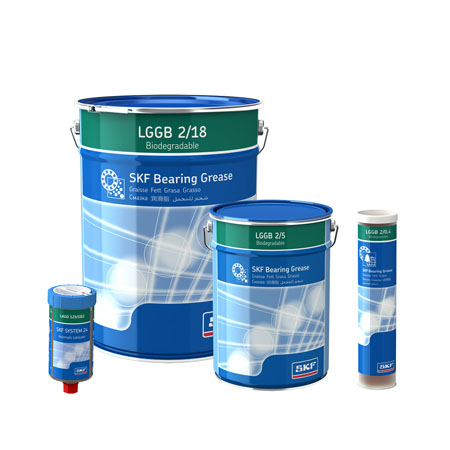 گریس Bearing Greases اس کا اف Skf Biodegradable Bearing Grease    سری LGGB  2